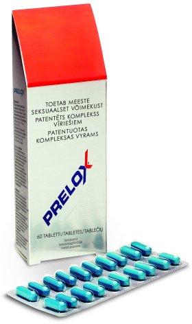 tablečių poveikis erekcijai