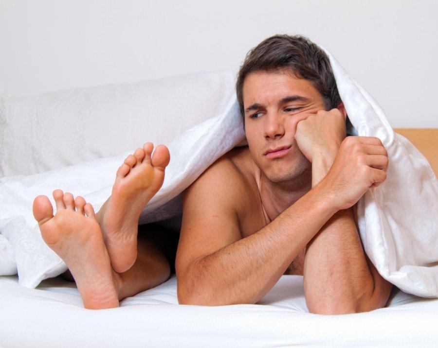 erekcijos gydymo trūkumas